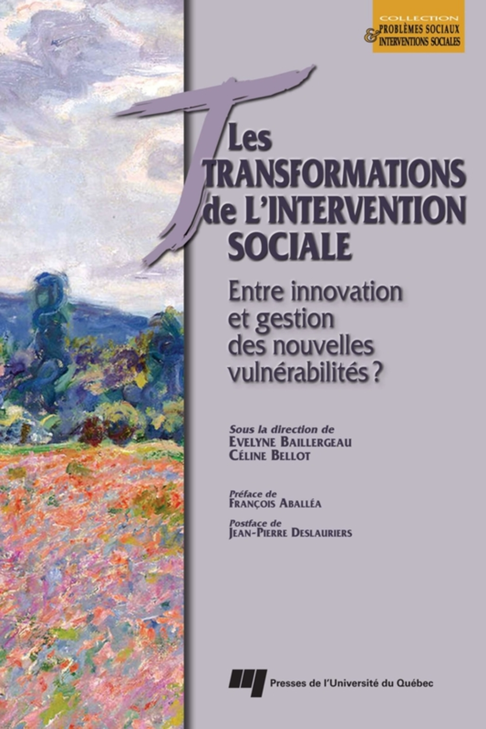 Transformations de l'intervention sociale