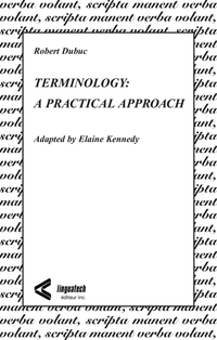 Terminology: A Practical Ap...