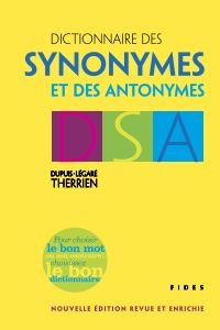 Dictionnaire des synonymes ...