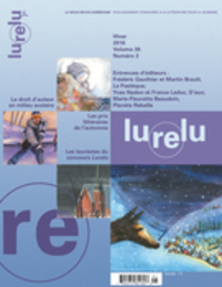 Lurelu. Vol. 38 No. 3, Hive...