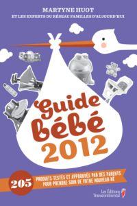 Guide bébé 2012