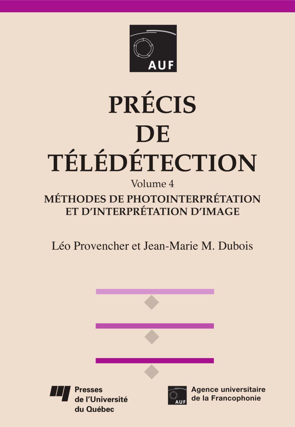 Précis de télédétection - Volume 4