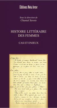 Histoire littéraire des femmes