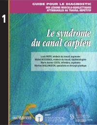 Le syndrome du canal carpien