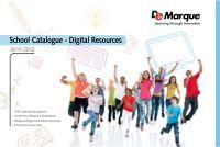 School Catalogue 2011-2012