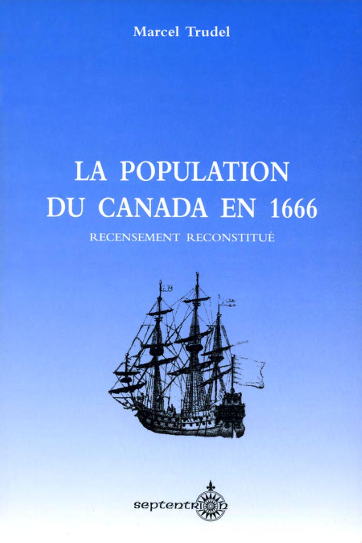 La Population du Canada en 1666