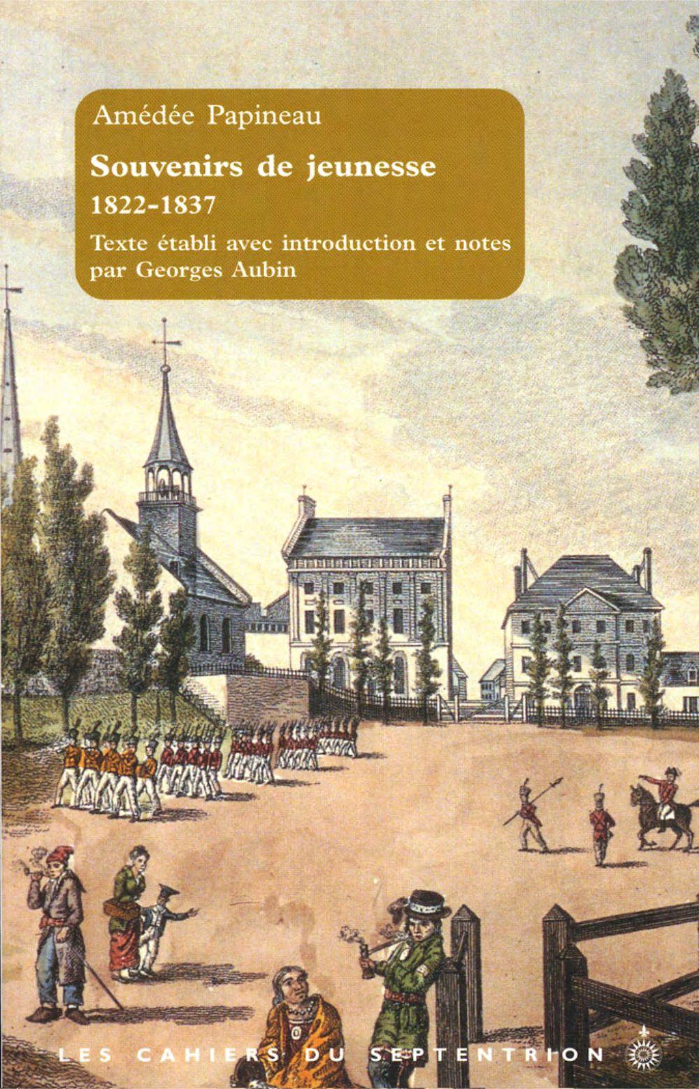 Souvenirs de jeunesse, 1822-1837