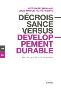 Décroissance versus développement durable