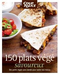 150 plats végé savoureux