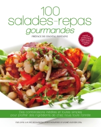 100 salades-repas gourmandes