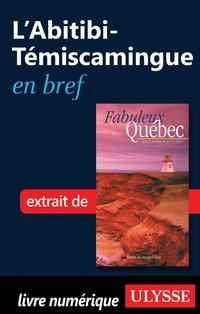 L'Abitibi-Témiscamingue en bref