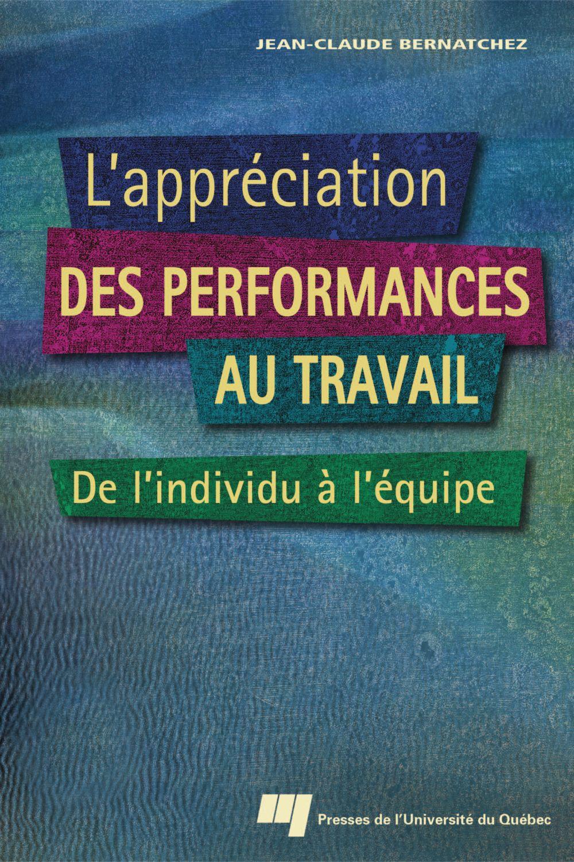 L'appréciation des performances au travail