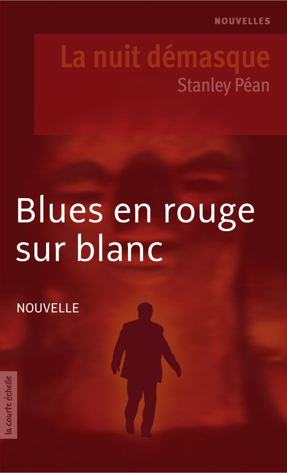 BLUES EN ROUGE SUR BLANC