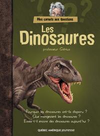 Image de couverture (Mes carnets aux questions - Les Dinosaures)