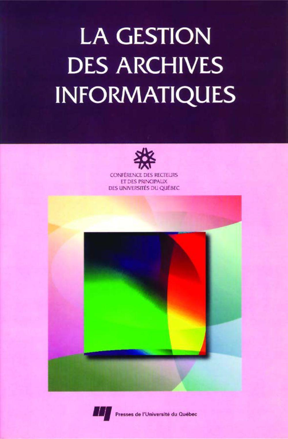 La gestion des archives informatiques