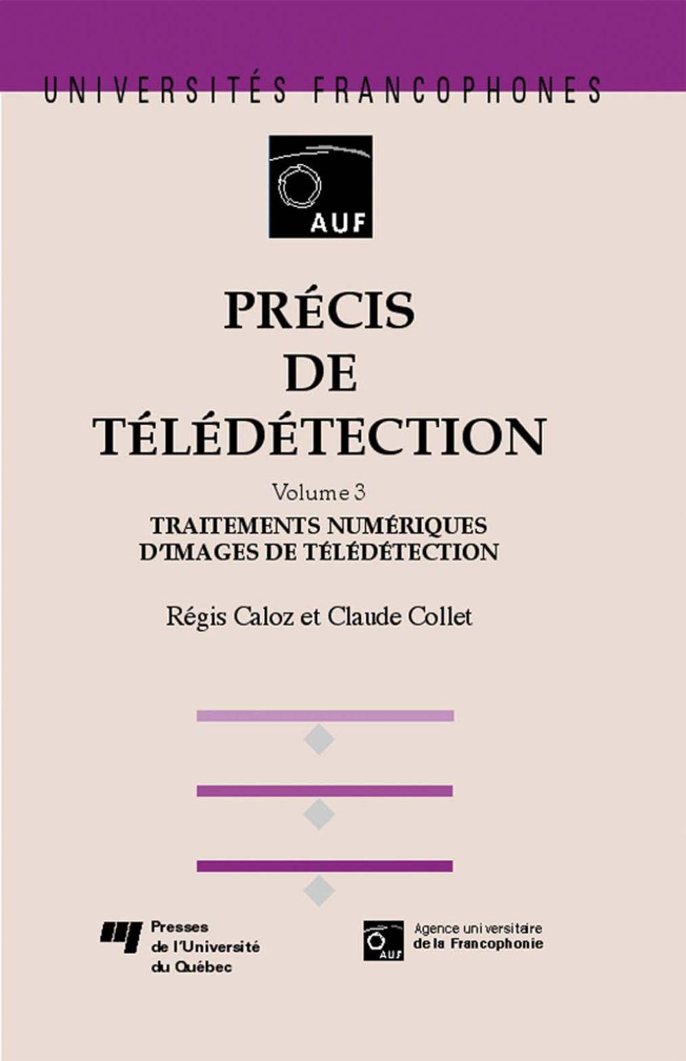 Précis de télédétection - Volume 3