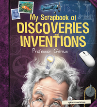 Image de couverture (My Scrapbook of Discoveries and Inventions (by Professor Genius))