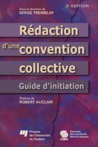 Rédaction d'une convention ...
