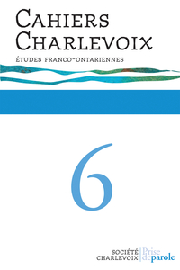 Cahiers Charlevoix 6
