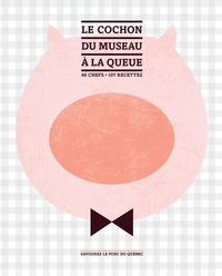 Le cochon du museau à la queue