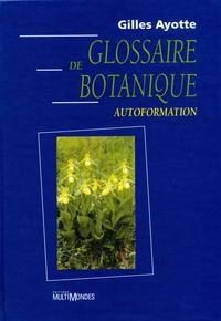 Glossaire de botanique