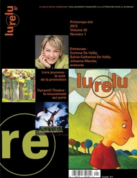 Lurelu, volume 35, numéro 1, printemps, été 2012