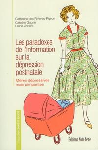 Les paradoxes de l'information sur la dépression postnatale