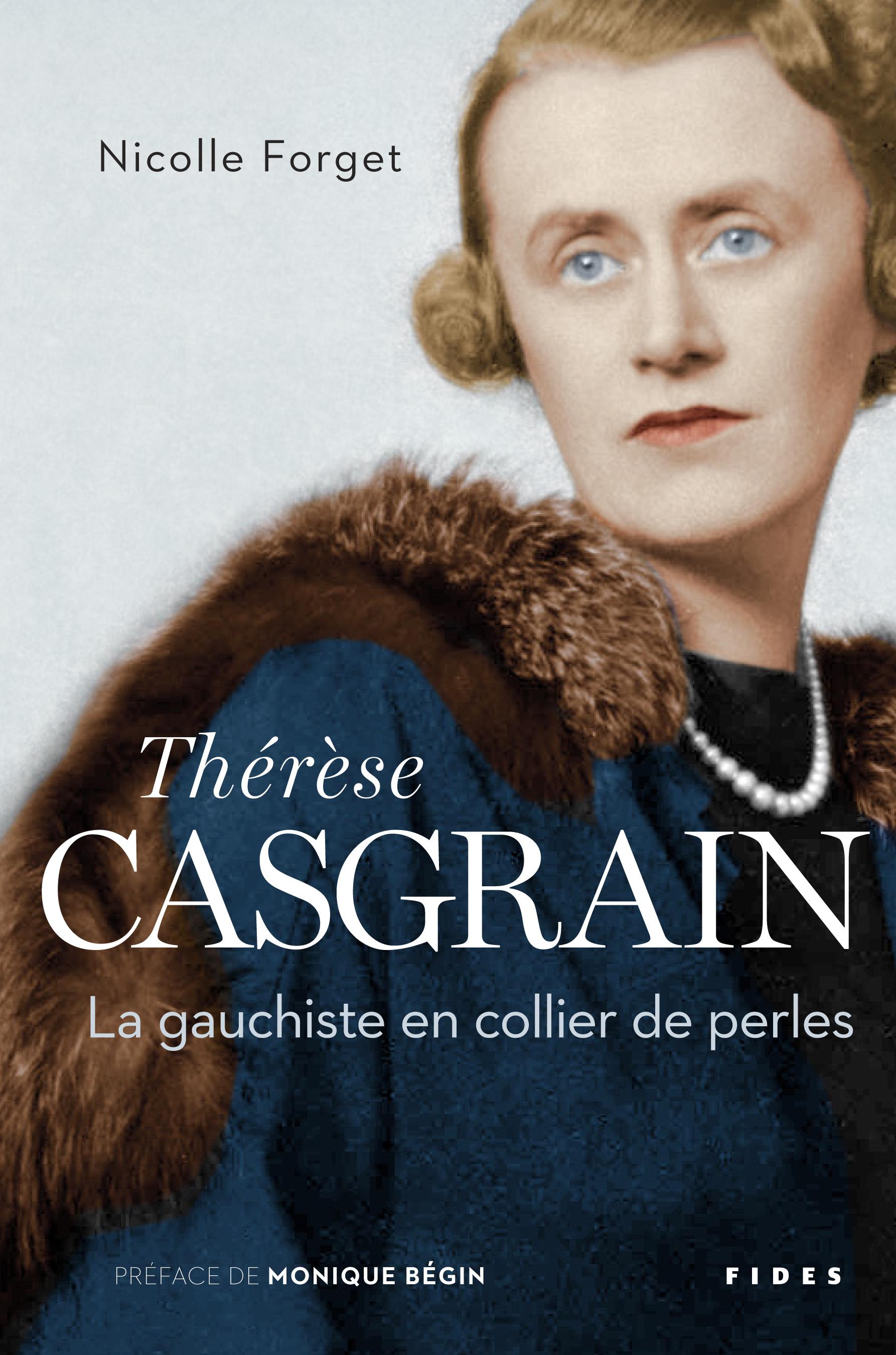 Thérèse Casgrain, La gauchiste en collier de perles