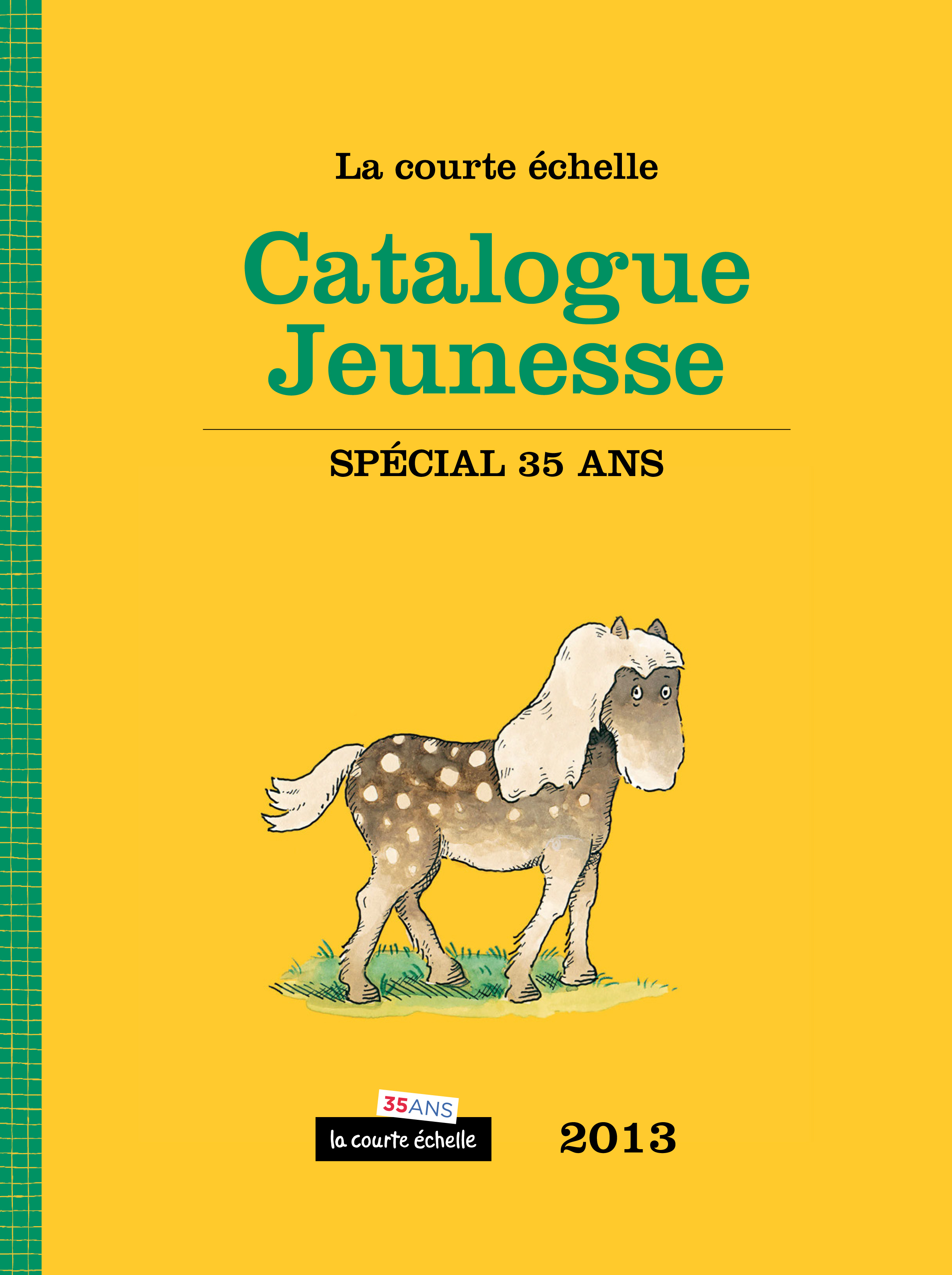 CATALOGUE JEUNESSE - SPECIAL 35 ANS