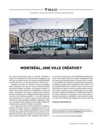 Montréal, une ville créative?