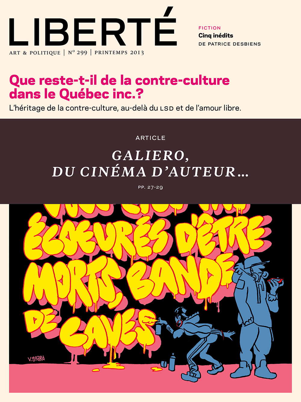 LIBERTE 299 - ARTICLE - DU CINEMA D