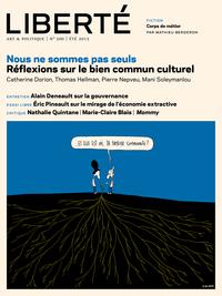 Revue Liberté 300 - Nous ne sommes pas seuls - numéro complet