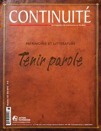 Image de couverture (Continuité. No. 137, Été 2013)