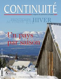 Continuité. No. 135, Hiver 2013