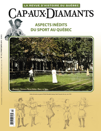 Image de couverture (Cap-aux-Diamants. No. 113, Printemps 2013)