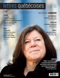 Lettres québécoises. No. 150, Été 2013