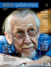 Lettres québécoises. No. 149, Printemps 2013