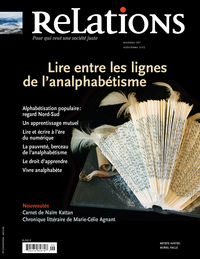 Image de couverture (Relations. No. 767, Septembre 2013)
