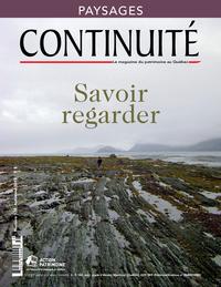 Continuité. No. 138, Automne 2013