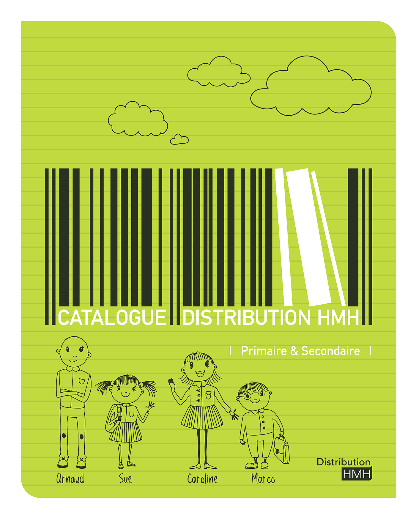 DISTRIBUTION HMH - PRIMAIRE & SECONDAIRE - CATALOGUE 2014