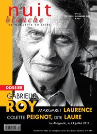 Nuit blanche, le magazine du livre. No. 132, Automne 2013
