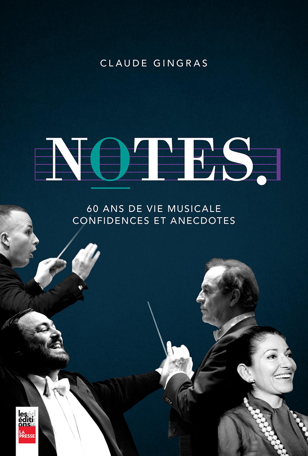 Notes, 60 ans de vie musicale, confidences et anecdotes