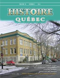 Histoire Québec. Vol. 19 No. 3,  2014