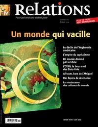 Image de couverture (Relations. No. 770, Janvier-Février 2014)