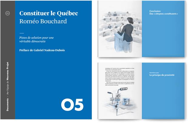 Constituer le Québec