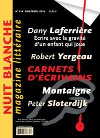 Image de couverture (Nuit blanche, le magazine du livre. No. 134, Printemps 2014)
