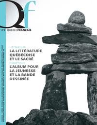Image de couverture (Québec français. No. 172,  été 2014)