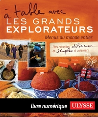 Cover image (À table avec Les Grands Explorateurs - Menus du monde)