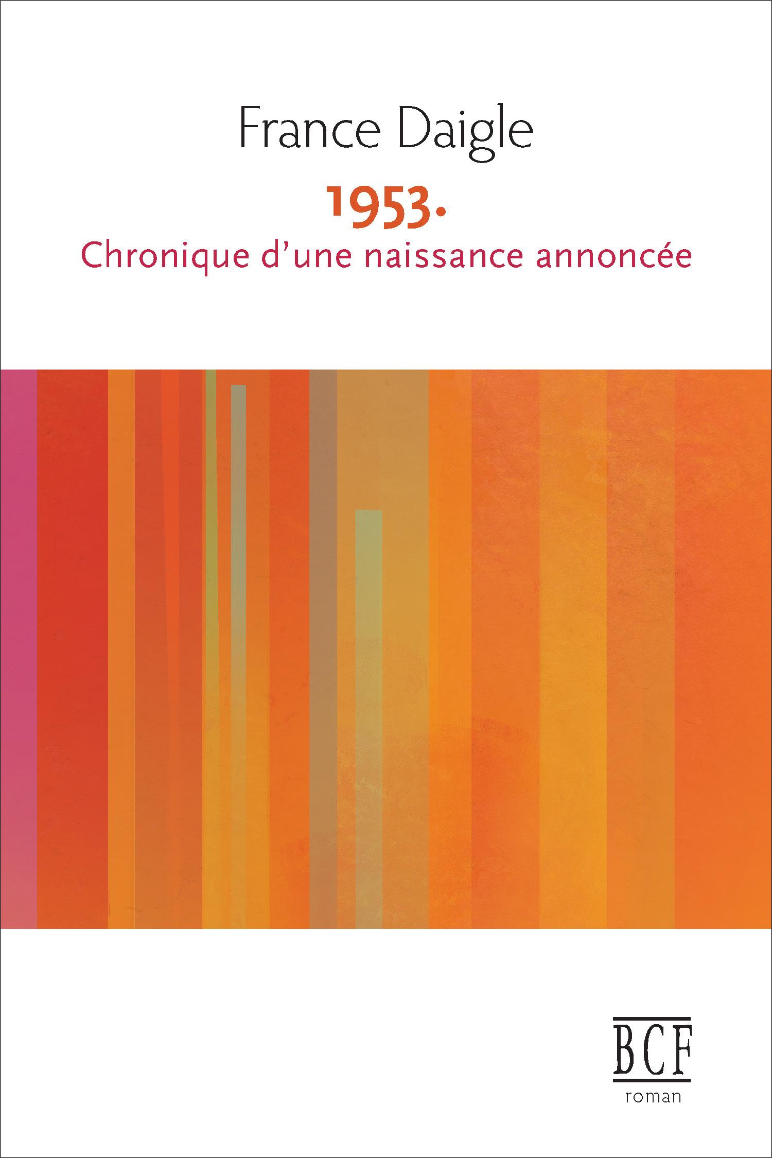 1953 CHRONIQUE D