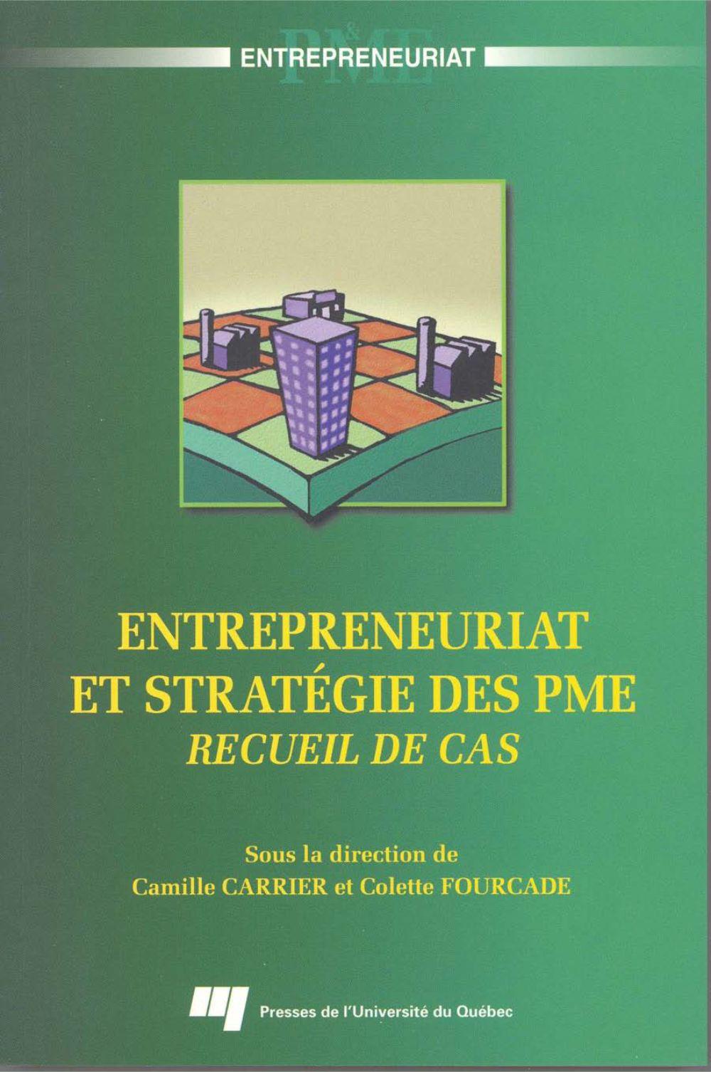 Entrepreneuriat et stratégie des PME